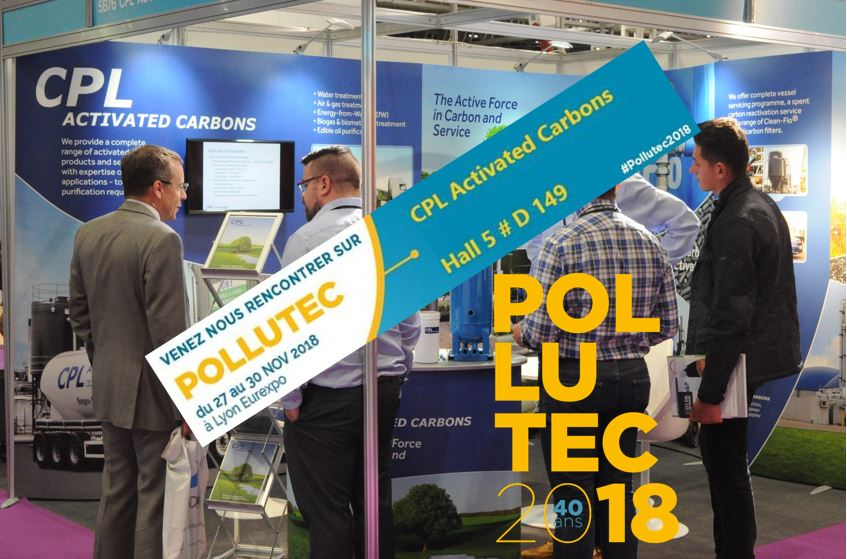 Pollutec 2018 CPL Activated Carbons, Hall 5 D149