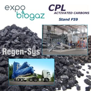 Expo Biogaz Lille - CPL Activated Carbons, Stand F59